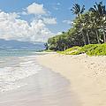 Kawililipoa Beach Kihei Maui Hawaii by Sharon Mau