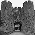 Keys To The Castle - Black And White by Nicole Parks