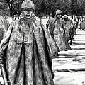 Korean War Memorial Washington Dc by Bob and Nadine Johnston