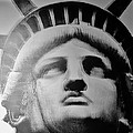 Lady Liberty In Black And White by Rob Hans