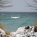 Lake Michigan In December by Linda Kerkau