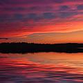 Lake Sunset by Rick Friedle