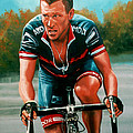 Lance Armstrong by Paul Meijering