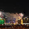 Las Vegas Fireworks by Kevin Grant