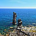 Le Colonne - San Pietro Island by Antonio Scarpi