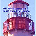 Lighthouse At Cape May by Eric  Schiabor