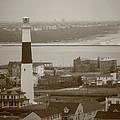 Lighthouse - Atlantic City by Frank Romeo