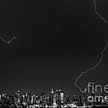 Lightning Strikes The Big Apple by Jerry Fornarotto
