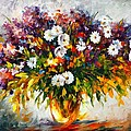 Lilac And Camomiles by Leonid Afremov