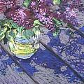 Lilacs by Gloria  Nilsson