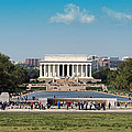 Lincoln Memorial by Rachel Sanderoff