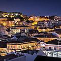 Lisbon Downtown by Carlos Caetano