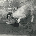 Ln1794 Honey - The Under Water Dog by Retro Images Archive