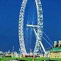 London Eye Westminster Bridge by David French