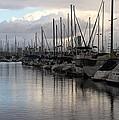 Long Beach Marina  by Robert Butler