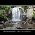 Looking Glass Falls North Carolina by Charles Beeler