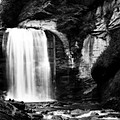 Looking Glass Falls by Steven Richardson