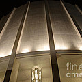 Looking Up Founders Hall At Night by Mark Dodd