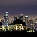 Los Angeles Skyline by Jerome Obille