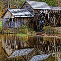Mabry Mill by Ola Allen