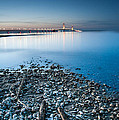 Mackinac Bridge by Larry Carr