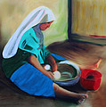 Making Bread by Deborah Boyd