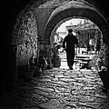 Man In An Archway / Hammamet by Barry O Carroll