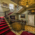 Mansion Stairway by Adrian Evans