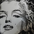Marilyn Monroe 01 by Chrisann Ellis