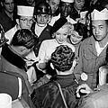 Marilyn Monroe In Korea by Underwood Archives