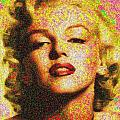 Marilyn Monroe - 100 Dollars by Samuel Majcen