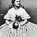 Mary Todd Lincoln (1818-1882) by Granger