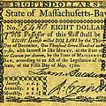 Massachusetts Banknote by Granger