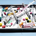 Medical Equipment And Drugs by Tek Image/science Photo Library