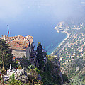 Mediterranean Below Eze 2 by David Nichols
