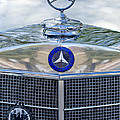 Mercedes-benz Hood Ornament by Jill Reger