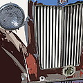 Mg Grille Abstract by Mark Steven Burhart