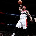 Miami Heat V Washington Wizards by Ned Dishman