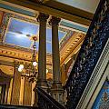 Michigan Capitol Building by Gej Jones