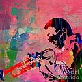 Miles Davis by Marvin Blaine