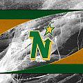 Minnesota North Stars by Joe Hamilton