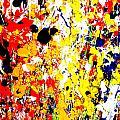 Modern Abstract Painting Original Canvas Art Wild By Zee Clark by Zee Clark