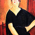 Modigliani's Madame Amedee -- Woman With Cigarette by Cora Wandel