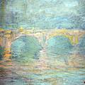Monet's Waterloo Bridge In London At Sunset by Cora Wandel