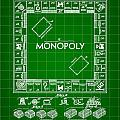 Monopoly Patent 1935 - Green by Stephen Younts