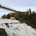 Montmorency Waterfall  Canada by Christiane Schulze Art And Photography
