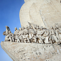 Monument To The Discoveries In Lisbon by Artur Bogacki