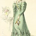 Morning Dress, Fashion Plate by English School