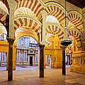 Mosque-cathedral In Cordoba by Karol Kozlowski