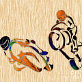 Motorcycle Racing by Marvin Blaine